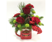 Milk and Cookies -SANTA in Belleville ON, Live, Love and Laugh Flowers, Antiques and Gifts