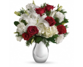 Silver Noel Bouquet in Smyrna GA, Floral Creations Florist