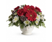 Simply Merry Centerpiece in Smyrna GA, Floral Creations Florist