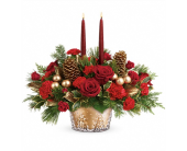 Festive Glow Centerpiece in Smyrna GA, Floral Creations Florist
