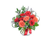 Scarlet Flame in Methuen MA, Martins Flowers & Gifts