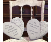 Heart shaped Sympathy Stones in Spring Hill, Florida, Sherwood Florist Plus Nursery