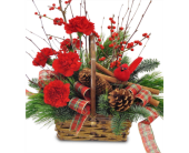 Cinnamon Basket in Savannah GA, John Wolf Florist