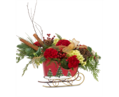 Holiday Sleigh in St. Louis MO, Walter Knoll Florist