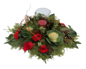 Home for Christmas Centerpiece in Orangeville ON, Orangeville Flowers & Greenhouses Ltd