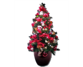 Miniature Artificial Traditional Christmas Tree in Boise ID, Capital City Florist