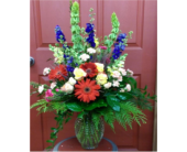 Vibrant garden vase. in Twin Falls ID, Canyon Floral