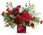 Rich In Love Bouquet by Teleflora in Ste-Foy QC, Fleuriste La Pousse Verte