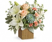 Teleflora's Desert Sunrise Bouquet in San Jose CA, Rosies & Posies Downtown