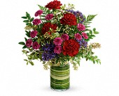 Teleflora's Vivid Love Bouquet in Bowmanville ON, Bev's Flowers