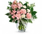 Teleflora's Whisper Soft Bouquet in Aston PA, Wise Originals Florists & Gifts