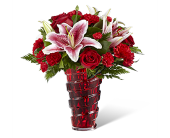 The FTD Lasting Romance Bouquet in Orland Park IL, Sherry's Flower Shoppe