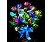 Rainbow Bouquet in Columbia TN, Douglas White Florist
