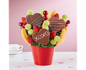 Hearts and Kisses in Mount Morris MI, June's Floral Company & Fruit Bouquets