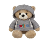 Hoodie Bear - I love you in Smyrna GA, Floral Creations Florist