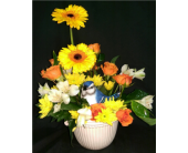 M & W Flower Shop's Happy Thoughts Bouquet in Chatham, Virginia, M & W Flower Shop