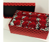 ROSES IN A BOX in North York ON, Ivy Leaf Designs