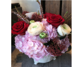 Sweet Romance in Thornhill ON, Wisteria Floral Design