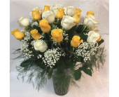 Yellow and White Roses in Philadelphia PA, Schmidt's Florist & Greenhouses