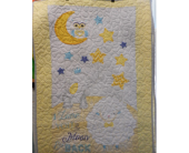 I love you to the Moon and back Baby Quilt in Johnstown PA, Schrader's Florist & Greenhouse, Inc