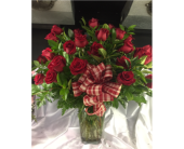 3 Dozen Red Roses in Lowell MA, Wood Bros Florist