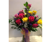 Dutch Mixed roses in Bismarck ND, Dutch Mill Florist, Inc.