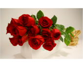 Long Stem Roses in Gift Box in Watertown MA, Cass The Florist, Inc.