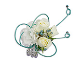 French Quarter Wrist Corsage in Bradenton FL, Florist of Lakewood Ranch