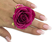 Fuchsia Floral Ring in Bradenton FL, Florist of Lakewood Ranch