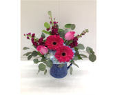 Striking Sapphire Bouquet in Smyrna GA, Floral Creations Florist