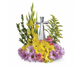 Teleflora's Crystal Cross Bouquet in New Port Richey FL, Holiday Florist