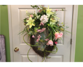 Spring Wreath in Conway AR, Conways Classic Touch