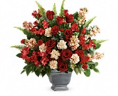 Teleflora's Bold Tribute Bouquet in Los Angeles, California, RTI Tech Lab