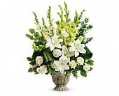 Teleflora's Clouds Of Heaven Bouquet in Oklahoma City OK, Capitol Hill Florist and Gifts