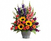 Teleflora's Hues Of Hope Bouquet in Tulsa, Oklahoma, Ted & Debbie's Flower Garden