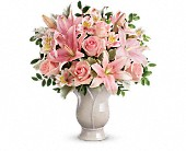 Teleflora's Soft And Tender Bouquet in Tecumseh, Michigan, Ousterhout's Flowers