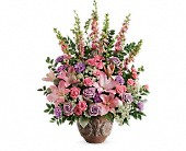 Teleflora's Soft Blush Bouquet in Springfield, Massachusetts, Pat Parker & Sons Florist