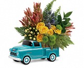 Timeless Chevy Pickup by Teleflora in Huntersville NC, Bells and Blooms
