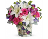 Garden Poetry Bouquet in Smyrna GA, Floral Creations Florist