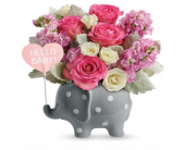 Hello Sweet Baby PINK in Smyrna GA, Floral Creations Florist