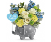 Hello Sweet Baby BLUE in Smyrna GA, Floral Creations Florist