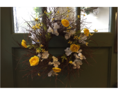 Spring Blueberry Twig Wreath in Mount Kisco NY, Hollywood Flower Shop