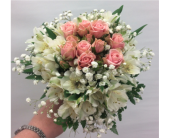 Roses and Alstro in Manhasset NY, Town & Country Flowers