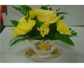 China Teacup in Dartmouth, Nova Scotia, Janet's Flower Shop