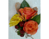 Fall Boutonniere in Gaithersburg, Maryland, Flowers World Wide Floral Designs Magellans