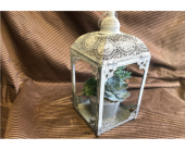 Grey Vintage Lantern in Kimberly WI, Robinson Florist & Greenhouses