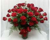 Three Dozen Red Roses in Grand Rapids MN, Shaw Florists