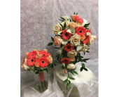 Bridesmaid Bouquet<br>(as shown on left) in Southampton PA, Domenic Graziano Flowers