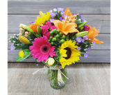 Bright Times Bouquet in Smyrna GA, Floral Creations Florist