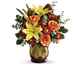 Teleflora's Citrus Harvest Bouquet in San Jose CA, Rosies & Posies Downtown
